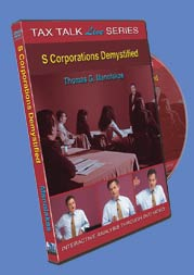 S Corporations - DVD