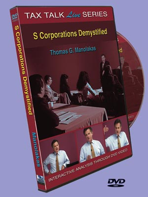 S Corporations Demystified DVD